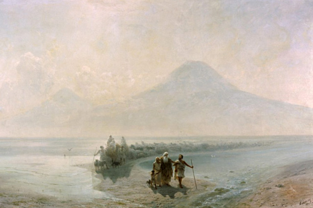 Ivan Aivazovsky, Descent of Noah from Mountain Ararat