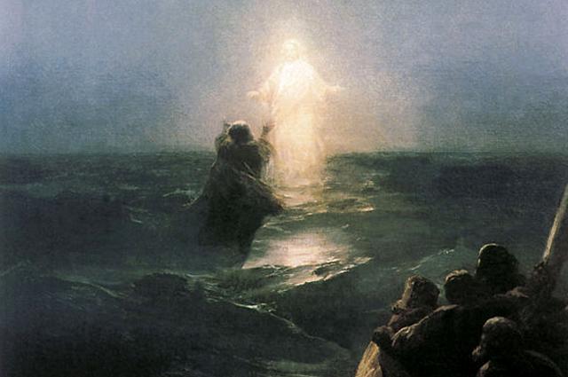 Ivan Aivazovsky, Walking on Water