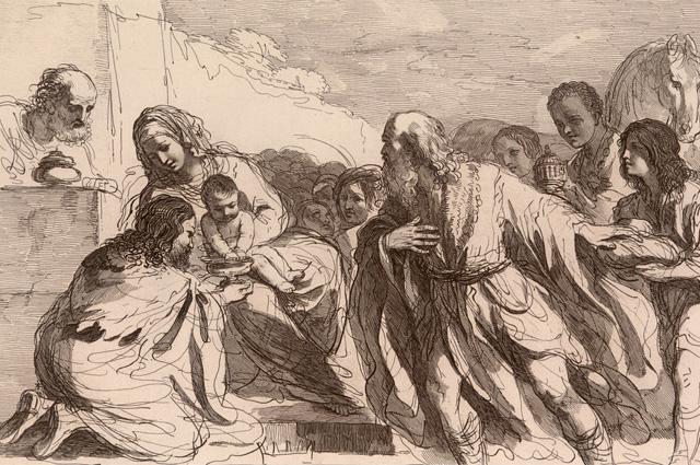 Francesco Bartolozzi, Adoration of the Magi