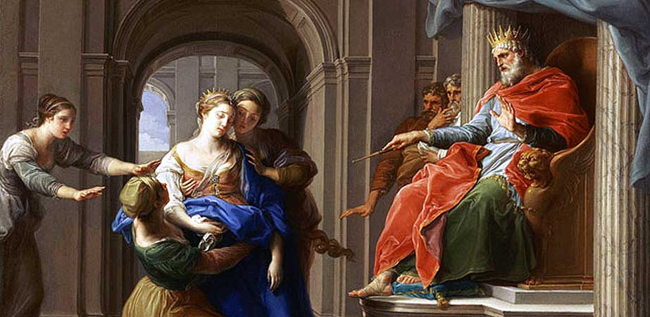 Esther before Ahasuerus, Pompeo Girolamo Batoni