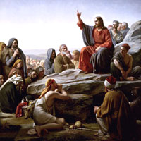 Carl Bloch, The Sermon on the Mount (thumbnail)