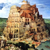 Pieter Bruegel, Tower of Babel (thumbnail)