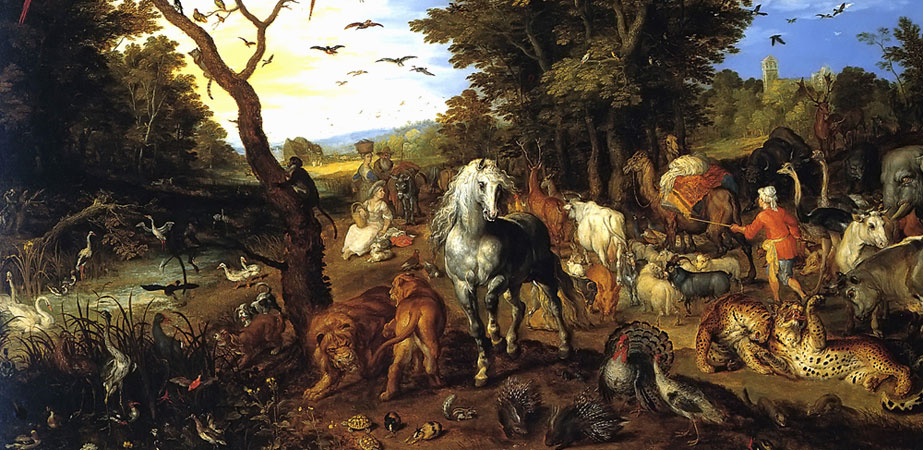 The Entry of the Animals into Noah's Ark, Jan Brueghel the Elder