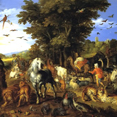 Jan Brueghel the Elder, The Entry of the Animals into Noah's Ark (thumbnail)