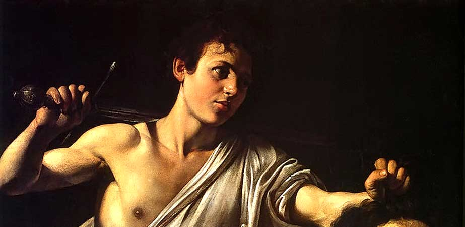 David with the Head of Goliath, Caravaggio (Michelangelo Merisi da)