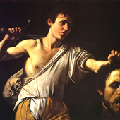 Michelangelo Merisi da Caravaggio, David with the Head of Goliath (thumbnail)