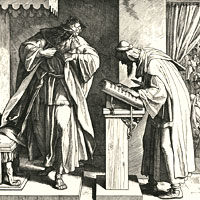 Julius Schnorr von Carolsfeld, Josiah Finds the Book of the Law (thumbnail)
