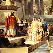 Giovanni Demin, Solomon and the Queen of Sheba (thumbnail)