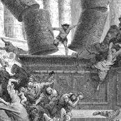 Gustave Dore, Death of Samson (thumbnail)