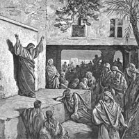 Gustave Dore, Micah Exhorting the Israelites to Repentance (thumbnail)