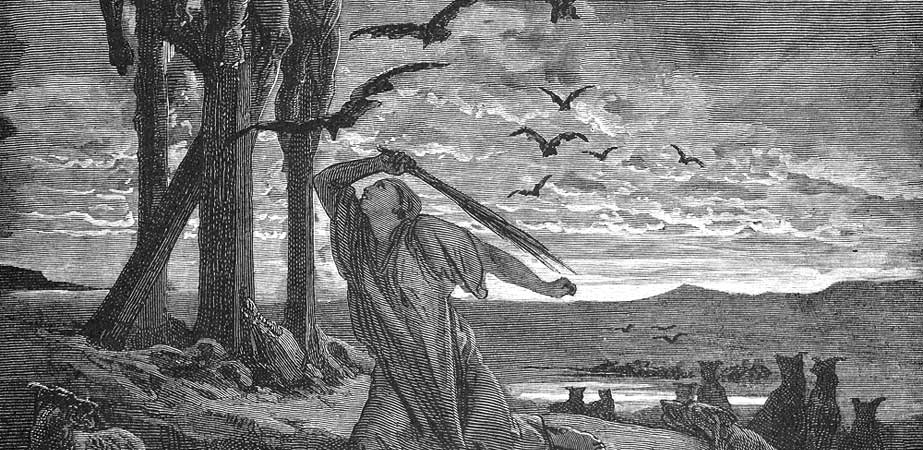 Rizpahs Kindness Unto the Dead, Gustave Dore