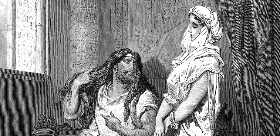 Samson and Delilah, Gustave Dore