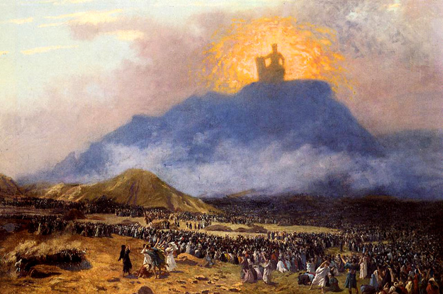 Jean-Leon Gerome, Moses on Mount Sinai