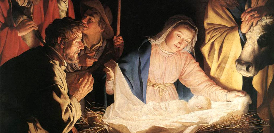 The Adoration of the Shepherds, Gerard van Honthorst