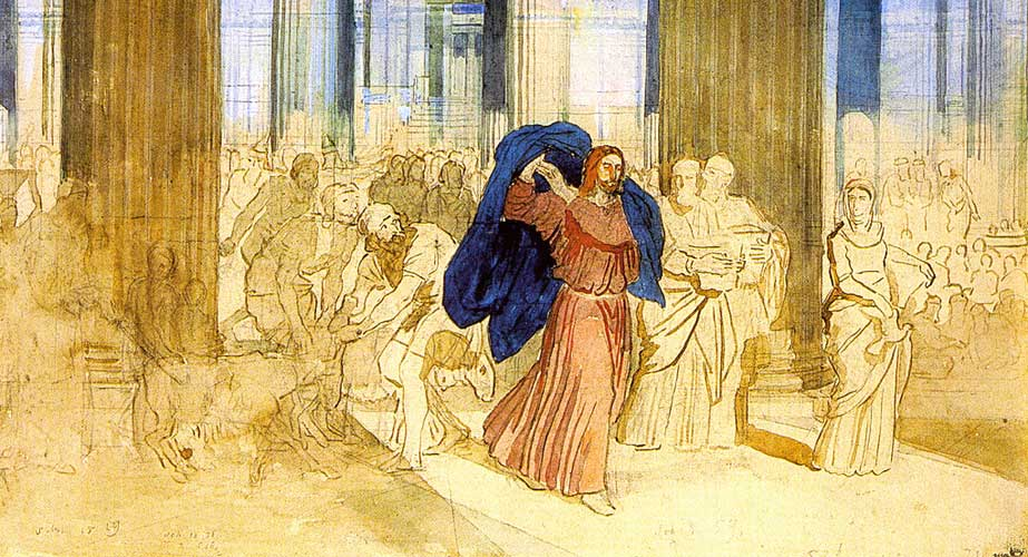 Expulsion of Merchants from the Temple, Alexander Andreyevich Ivanov