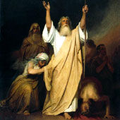 Ivan Kramskoy, Prayer of Moses after the Israelites go through the Black Sea (thumbnail)