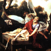 Laurent de La Hyre, Abraham Sacrificing Isaac (thumbnail)