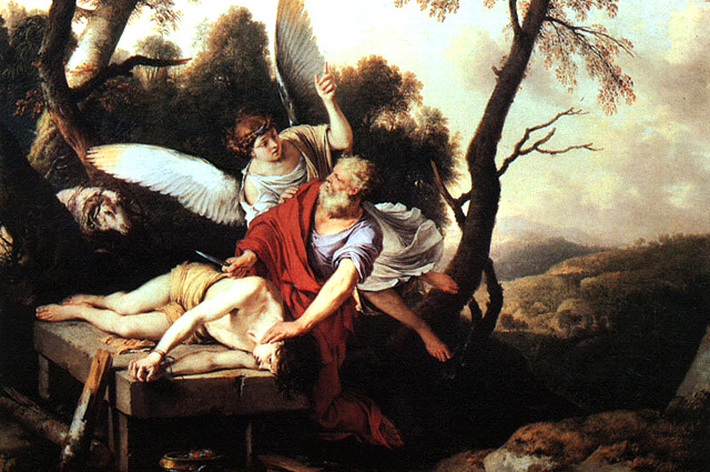 Laurent de La Hyre, Abraham Sacrificing Isaac