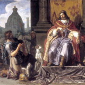 Pieter Lastman, David Handing Over a Letter to Uriah (thumbnail)