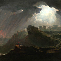John Martin, Joshua Commanding the Sun to Stand Still (thumbnail)