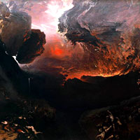 John Martin, The Great Day of His Wrath (thumbnail)
