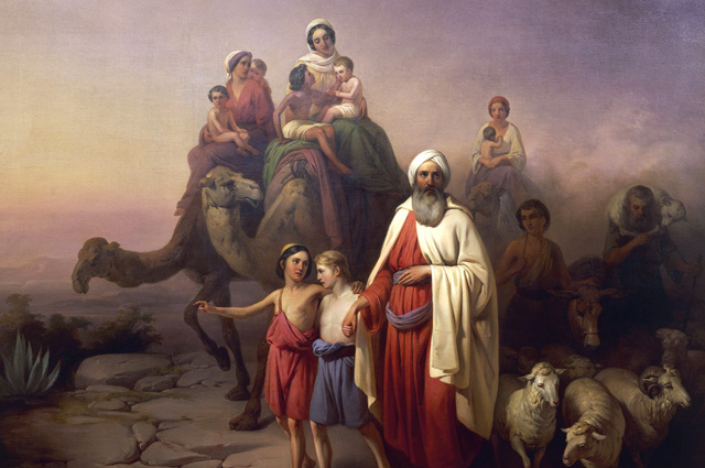 Jozsef Molnar, The March of Abraham