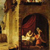 Bartolome Esteban Murillo, Isaac Blessing Jacob (thumbnail)