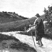 Alfred Pearse, Tychicus Journeying to Ephesian Church (thumbnail)