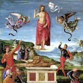 Rafael Sanzio de Urbino, The Resurrection of Christ (thumbnail)