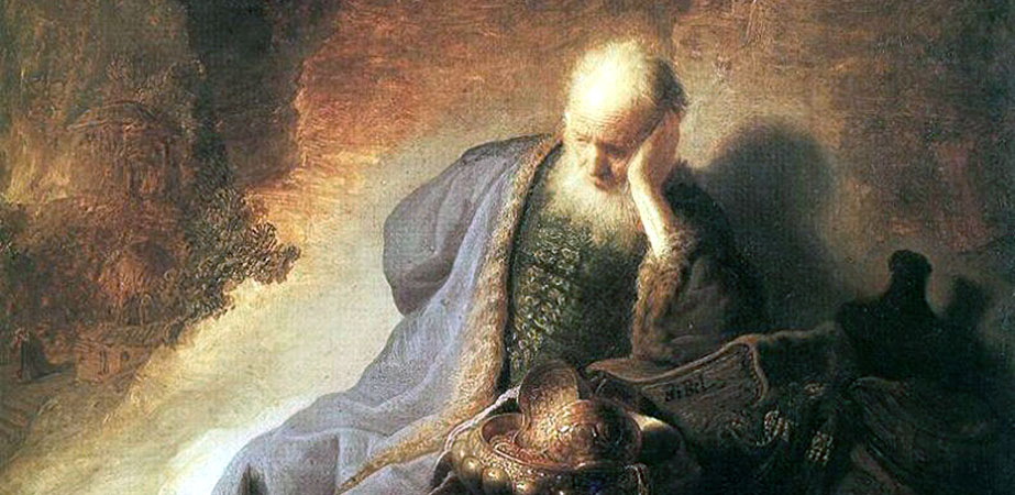 Jeremiah Lamenting the Destruction of Jerusalem, Rembrandt Harmenszoon van Rijn