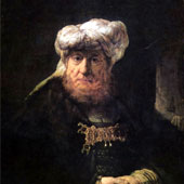 Rembrandt Harmenszoon van Rijn, The King Uzziah Stricken with Leprosy (thumbnail)