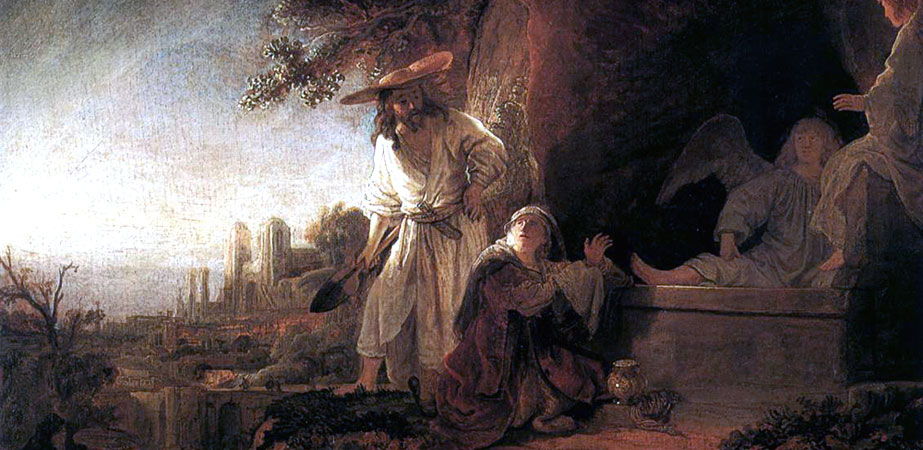 The Risen Christ Appearing to Mary Magdalen, Rembrandt Harmenszoon van Rijn