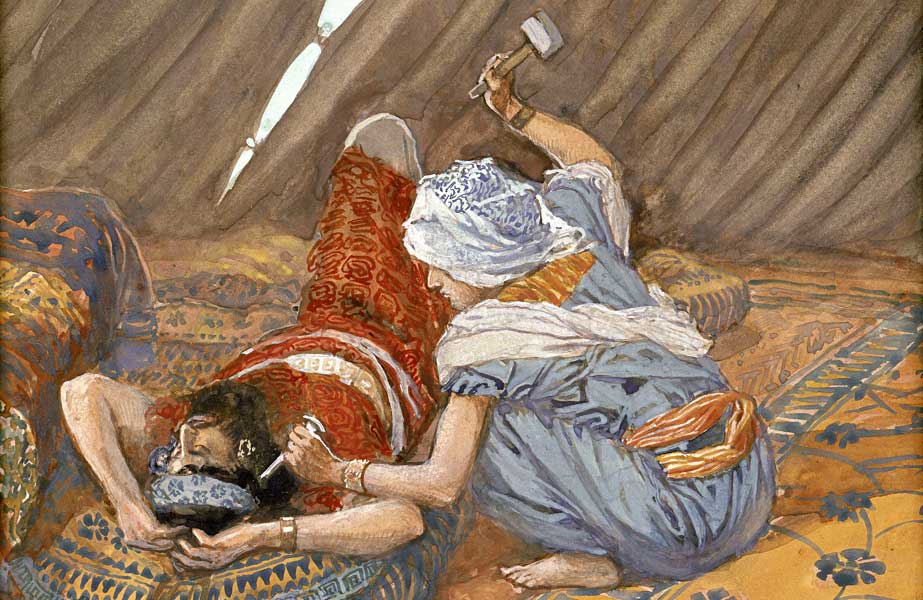 Jael Smote Sisera and Slew Him, James Tissot