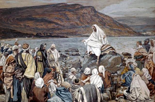 James Tissot, Jesus Teaching by the Seashore
