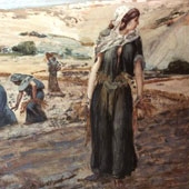 James Tissot, Ruth Gleaning (thumbnail)