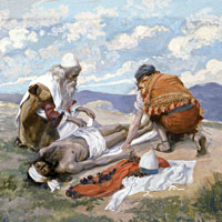 James Tissot, The Death of Aaron (thumbnail)