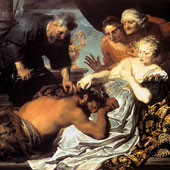 Anthony van Dyck, Samson and Delilah (thumbnail)