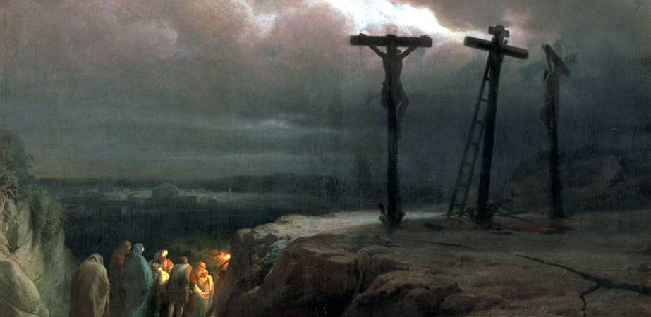 Night over Golgotha, Vasily Vereshchagin