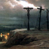 Vasily Vereshchagin, Night over Golgotha (thumbnail)