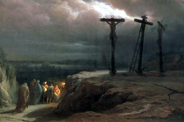 Vasily Vereshchagin, Night over Golgotha