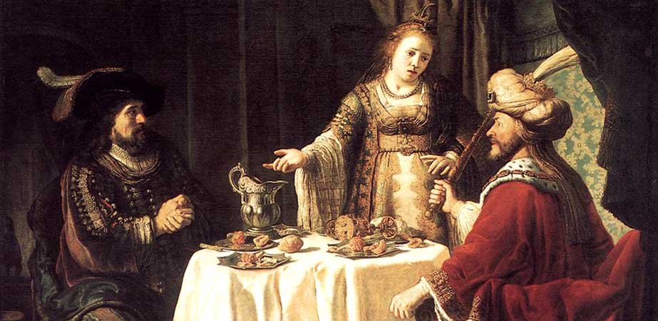 The Banquet of Esther and Ahasuerus, Jan Victors