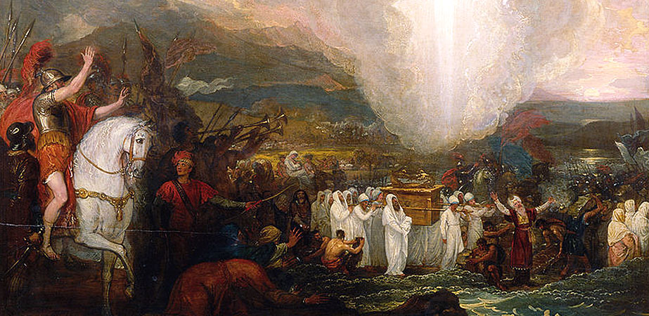 Joshua Passing the River Jordan (with the Ark of the Covenant), Benjamin West