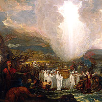 Benjamin West, Joshua Passing the River Jordan (thumbnail)