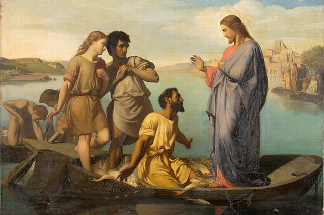 Henri-Pierre Picou, La P�che Miraculeuse (The Miraculous Fishing)
